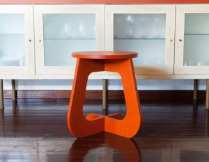 TABU color naranja orange - taburete stool TABUHOME®