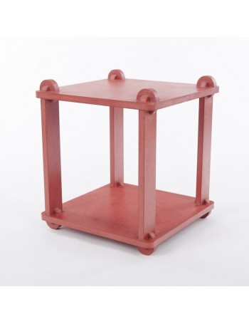 Table stool TABUTECA - Red modular design