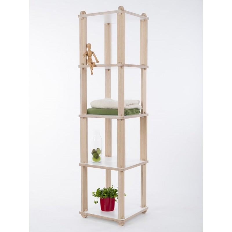 TABU TECA Shelving unit - modular tower shelving