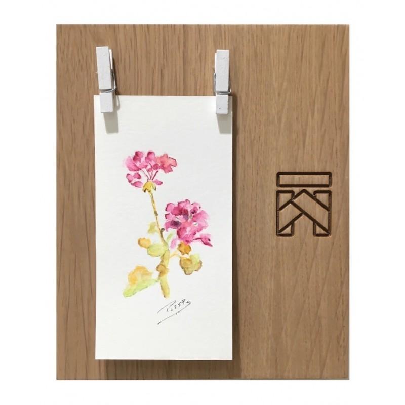 MARCO fotos - madera roble pequeño