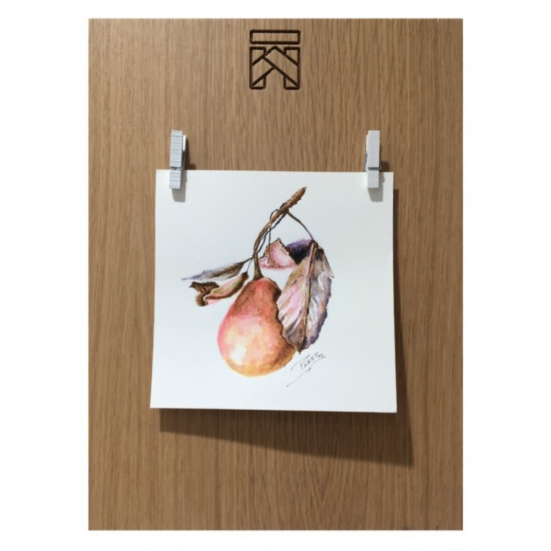 FRAME photos - oak wood L