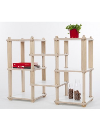 Shelving TABU TECA - modular low shelf