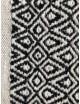 NORDICA - black and white carpet
