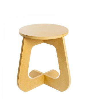 TABU color yellow - stool