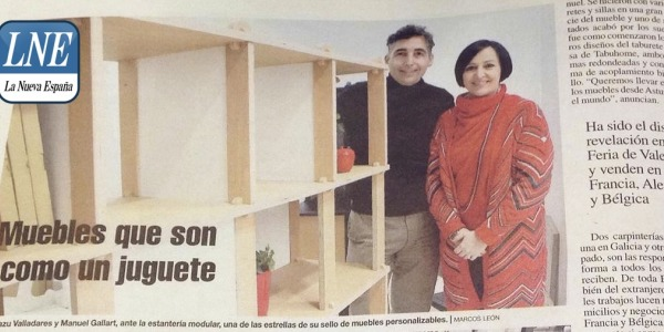 La Nueva España - TABUHOME Furniture that is like a toy